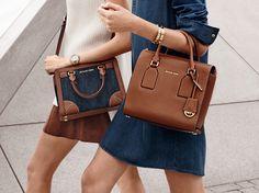 A neutral handbag is a spring staple. -xxMK #StyleTip