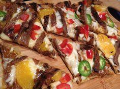 Spicy Thai BBQ Pizza