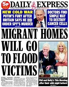 Daily Express Daily Express, January 2016, Cold War, The World's Greatest, Newspaper, Britain, Friday, Sayings, Journaling File System