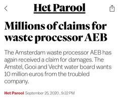 Amsterdam, September, News