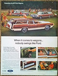 1971 Better Homes & Gardens, Ford