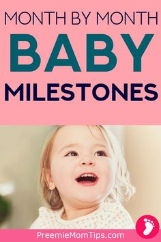 Understand your baby monthly development. Know which milestones to expect, when to see a doctor, and general routine tips as your baby grows from newborn to toddler. Newborn Care, Baby Newborn, Baby Baby, Toddler Development, Development Milestones, Baby Monat Für Monat, Baby Care Tips, Baby Tips, Baby Boy Swag