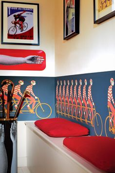 Fornasetti II Multiplette wallpaper frieze by Cole & Son