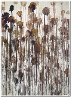 Cy Twombly, Untitled No. 5, (Winter Pictures)