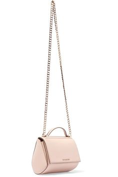 a9f1c13bb2de Givenchy - Pandora Mini Textured-leather Shoulder Bag - Blush https   tmblr