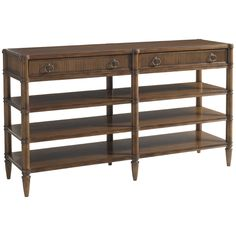Lexington Quail Hollow Auburn Console Table 460-966