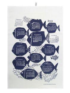 Image of Kauniste kitchen towel Calendar 2012 by Matti Pikkujämsä