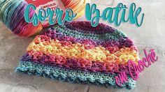 Gorro Batik em Croch