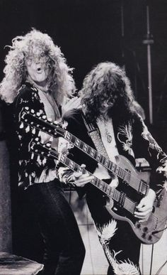 Always Retro: Robert Plant and Jimmy Page of 'Led Zeppelin'
