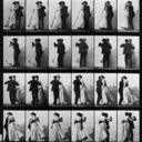 Eadweard Muybridge pioneer in photographing motion