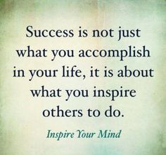 Motivational Quotes: Success Means Inspiring Others   The Sykes Group's OnPoint