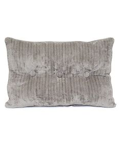 Look what I found on #zulily! Gray Concord Throw Pillow #zulilyfinds