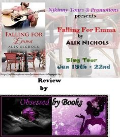 @Obsessedbybook gives Falling For Emma by @Aalix_Nichols 4 stars..Read her #Review here: http://mazzysbookreviews.blogspot.in/2015/01/release-blitz-falling-for-emma-by-alix.html #Romance #Novella #NjkinnyTours