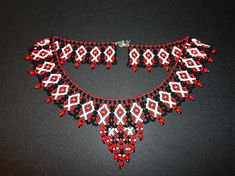 Beaded necklace in ethno style. Seed Bead Necklace, Tribal Necklace, Seed Beads, Beaded Necklace, Jewelry Necklaces, Sister Gifts, Gifts For Mom, Great Gifts, Mother Christmas Gifts