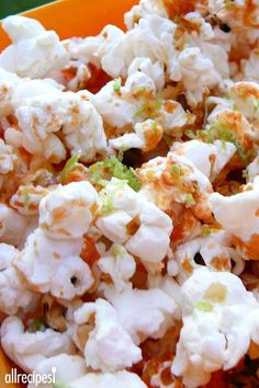 """Sriracha-Lime Popcorn   """"Something different and delicious!"""""""