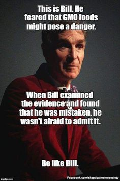 It's like science and evidence are important or something!