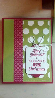 SU Christmas Card