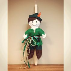 ACCESSORIES | Chryssomally || Art & Fashion Designer - Handmade Easter Peter Pan doll candle Fashion Art, Fashion Design, Peter Pan, Easter, Candles, Dolls, Christmas Ornaments, Holiday Decor, Handmade