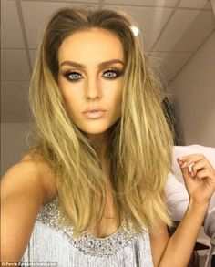 Selfie-esteem: Perrie also posed up a storm in one of many countless selfies she has indulged in
