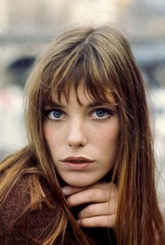 "vogue: "" And just like that, Jane Birkin makes us want to go with bangs for fall. See 22 of the most classic looks of all time to inspire your next trip to the salon. """