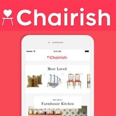 Best Selling Apps - Chairish Furniture App Selling Apps, Selling Online, Sell Your Stuff, Things To Sell, Selling Furniture, Extra Money, How To Take Photos, Improve Yourself