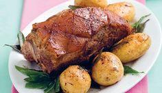 Slow-roasted shoulder of pork #recipe.