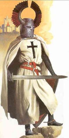 Discover Knight Templar Warrior Amen Sweatshirt, a custom product made just for you by Teespring. - Beautiful and quality Knight Templar Warrior -. Medieval Knight, Medieval Armor, Medieval Fantasy, Good Knight, Knight Art, Armadura Medieval, Knights Hospitaller, Knights Templar, Knight Orders