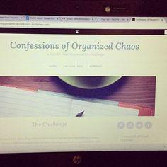 Twelve-week Organizational Challenge Blog.