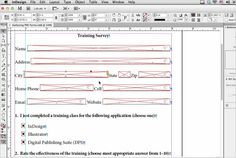 Making Interactive PDF Forms InDesign CS6 Tutorial 30 Useful Adobe Indesign Tutorials To Learn In 2013