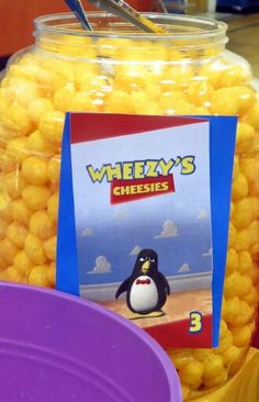 Toy Story Birthday Party Food- easy- Wheezy's Cheesies