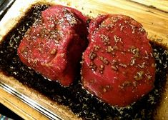 Meat And Poultry, Glazed Corned Beef, This Apricot Sweet Sauce Really Brings Out The Flavor In Corned Beef. It Is Great To Serve The Sauce Over Cooked Carrots Also! Fillet Mignon, Filet Mignon Marinade, Filet Mignon Steak, Balsamic Marinade, Beef Marinade, Steak Marinate, Filet Mignon Recipes Grilled, Thermomix Pan, Beef