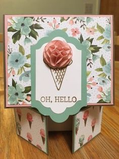 Double Dutch Fold Card; Birthday Bouquet Designer Series Paper; Honeycomb Happines SAB Stamp Set; Honeycomb Embellishments