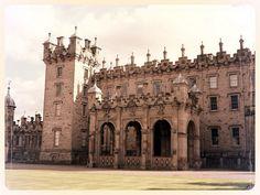 Floors Castle in the Scottish Borders: http://www.europealacarte.co.uk/blog/2014/12/29/floors-castle-in-the-scottish-borders/