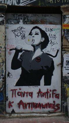 Athens graffiti, Exarchia