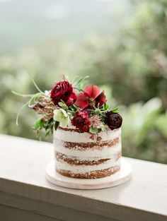 Red and Plum Old World Wedding Inspiration via Magnolia Rouge