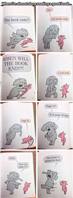 Book funnies And elephant and piggy...I love elephant and piggy