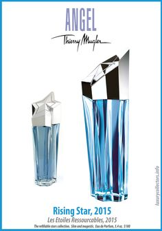 Thierry Mugler Angel Perfume Collector's Limited Edition Bottle 2015 Rising Star