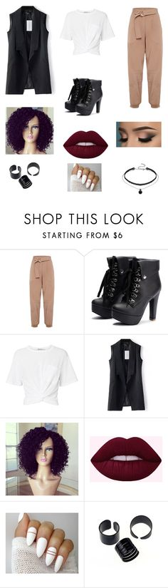 """""""Untitled #85"""" by gissellebeltre on Polyvore featuring T By Alexander Wang"""