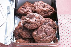 Do not bake these cookies to a crisp; they are meant to be soft and chewy.