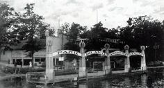 Park Island Amusement Park, Lake Orion, MI (1870s) Lake Orion Michigan, Oakland County Michigan, Local History, Historical Society, Amusement Park, Detroit, Dragons, Boat, Community