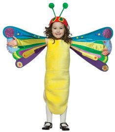 The Very Hungry Caterpillar Butterfly Costume for Kids