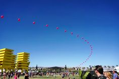 these balloons mean only one thing: happy #coachella! by katespadeny #instagram #liked