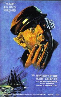 Early Hammer: Phantom Ship aka The Mystery of the Mary Celeste Hammer Horror Films, Hammer Films, Horror Movie Posters, Horror Movies, Film Posters, Mary Celeste, Greatest Villains, Classic Movies, Vintage Movies