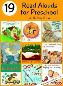 read alouds for preschool for letter D