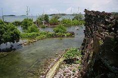 Nan-Madol: Off the island of Pohnpei in Micronesia, lies the ancient city of Nan Madol. Built on a coral reef exclusively from colossal basalt rocks (weighing up to 50 tons), the city is intercrossed by a multitude of canals and connected via submerged tunnels. Its scale has been compared to the Great Wall of China and the Great Pyramid, even though the Pyramid-stones only weigh about 3 tons each. Compare the buildling techniques to Gunung Padang, dated 5000 - to potentially 20,000 years…