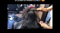 ELLY'S PROFESSIONAL STEAM HAIR STRAIGHTENER