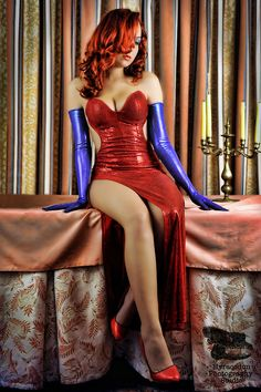 Cosplay of the Day: Jessica Rabbit!