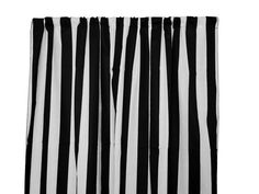 Zen Creative Designs Premium Cotton Curtain Panel / Window Decor / Window Treatments Inch x 58 Inch, Large Stripe Black White) * You can find more details by visiting the image link. (This is an affiliate link and I receive a commission for the sales) Balloon Curtains, Floral Shower Curtains, Striped Curtains, Cotton Curtains, Cotton Fabric, Porch Curtains, Panel Curtains, Curtain Panels, Country Curtains