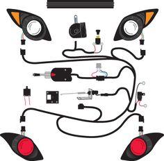 Golf Exhaust Tips Yamaha Golf Carts, Golf Cart Parts, Golf Apps, Golf Simulators, Golf Channel, Lift Kits, Columbia, Club, Tips