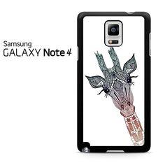 Head Giraffe Tribal Samsung Galaxy Note 4 Case